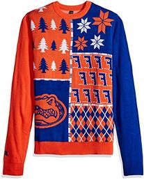 Klew NCAA Busy Block Sweater - Large - Florida Gators