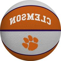 NCAA Clemson Tigers Alley Oop Dunk Basketball by Rawlings