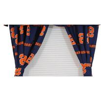 "College Covers Syracuse Orange Printed Curtain Panels 42"" x"