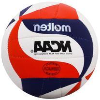 Molten NCAA FLISTATEC Mini Volleyball, Red/White/Blue