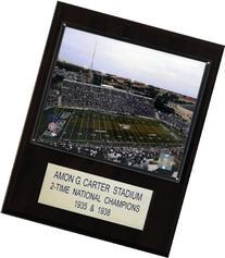 NCAA Football Amon G. Carter Stadium Stadium Plaque