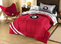 NCAA Georgia Bulldogs Twin Bed in a Bag with Applique