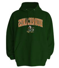 NCAA Miami Hurricanes Gildan Hoodie, Medium, Forest Green