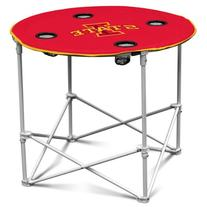 NCAA Iowa State Cyclones Round Tailgating Table