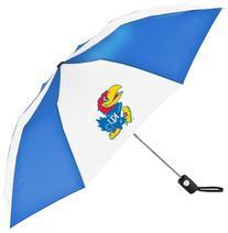 NCAA Kansas Jayhawks Automatic Folding Umbrella
