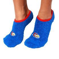 NCAA Kansas Jayhawks Foot-Z-Sox Slipper Socks, One Size,