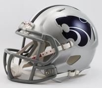 NCAA Kansas State Wildcats Speed Mini Helmet