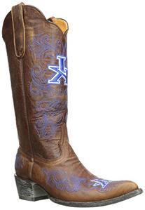 NCAA Kentucky Wildcats Women's 13-Inch Gameday Boots, Brass