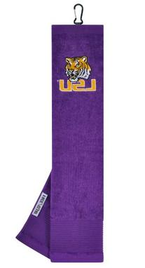 Louisiana State Tigers Face/Club Embroidered Towel
