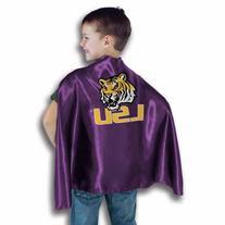 NCAA LSU Tigers Purple Hero Cape