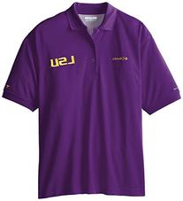 NCAA LSU Tigers Collegiate Perfect Cast Polo Shirt, Vivid
