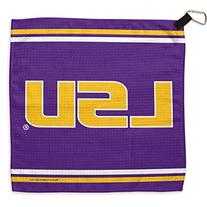 "NCAA Louisiana State University Waffle Towels, 13 x 13"","