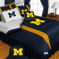 NCAA Michigan Wolverines - 5pc BED IN A BAG - Full/Double
