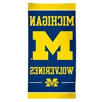 "NCAA Michigan Wolverines Fiber Beach Towel, 30 x 60"","