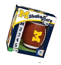 NCAA Michigan Wolverines Shake 'n Score Dice Game