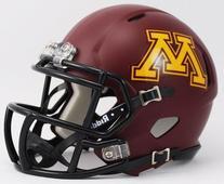 NCAA Minnesota Golden Gophers Speed Mini Helmet