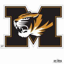 NCAA Missouri Tigers Automotive Magnet, 8-Inch