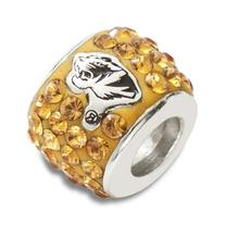 NCAA Missouri Tigers Premier Bead