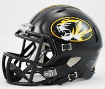 NCAA Missouri Tigers Speed Mini Helmet