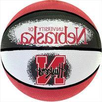 NCAA Nebraska Cornhuskers Mini Basketball, 7-Inches