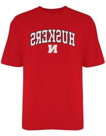 NCAA Nebraska Cornhuskers Gildan T-Shirt, Large, Red
