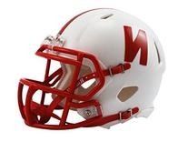Riddell NCAA Nebraska Cornhuskers Speed Mini Helmet