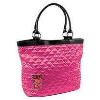 NCAA North Carolina State University Pink Quilted Tote