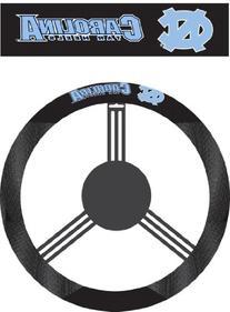 NCAA North Carolina Tar Heels Poly-Suede Steering Wheel