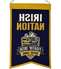 NCAA Notre Dame Fighting Irish Nations Banner