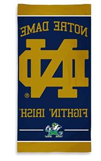 """NCAA Officially Licensed Notre Dame Fighting Irish 30""""x60"""""""