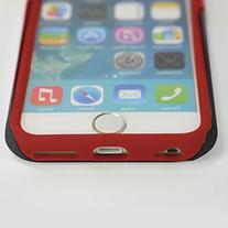NCAA Ohio State Buckeyes Hybrid IPhone 6 Case, Black, One