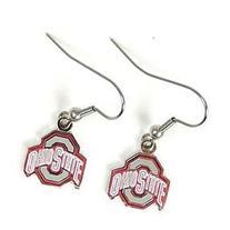NCAA Ohio State University Earrings Jewelry Card