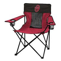NCAA Oklahoma Sooners Adult Elite Chair by Logo Brands