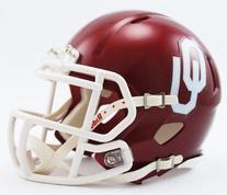 NCAA Oklahoma Sooners Speed Mini Helmet
