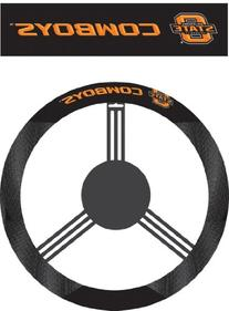 NCAA Oklahoma State Cowboys Poly-Suede Steering Wheel Cover