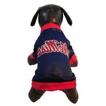 NCAA Ole Miss Rebels Athletic Mesh Dog Jersey, Team Color,