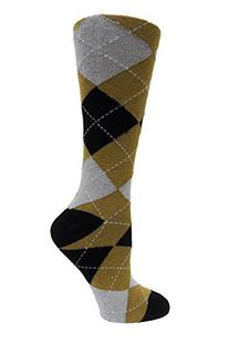 NCAA Purdue Boilermakers Argyle Socks, One Size, Brown