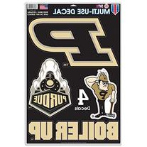 NCAA Purdue Boilermakers Multi-Use Decal, 11 x 17-Inch,