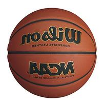 Wilson NCAA Replica Official Size Game Basketball, Brown
