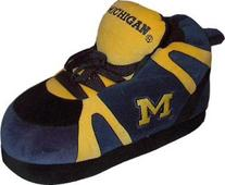 Comfy Feet - MIC01SM - Michigan Wolverines Slipper - Small
