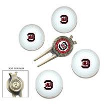 NCAA South Carolina 4-Pack Team Golf Ball Gift Set