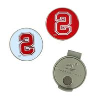 Stanford Cardinal Hat Clip and Ball Markers