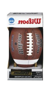NCAA Supreme W/Pump & Tee  Football