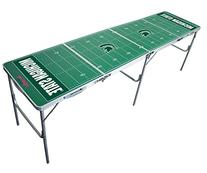 Michigan State Spartans 2x8 Tailgate Table by Wild Sports