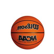 Wilson NCAA Mini Rubber Basketball, Red/Black
