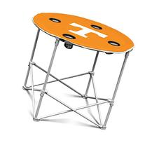 NCAA Tennessee Volunteers Round Tailgating Table