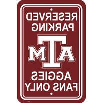 NCAA Texas A&M Aggies Parking Sign