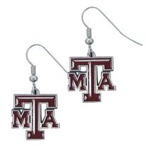 NCAA Texas A&M Aggies Dangle Earrings