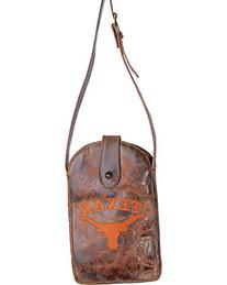 NCAA Texas Longhorns Women's Cross Body Purse, Brass, One