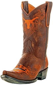 NCAA Texas Longhorns Women's 10-Inch Gameday Boots, Brass, 8